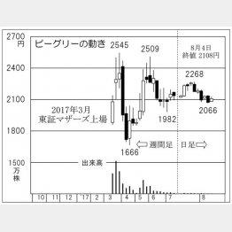 ビーグリー(C)日刊ゲンダイ
