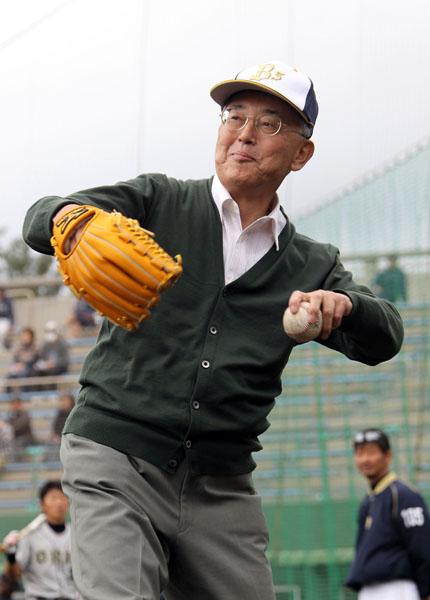 無類の野球好き(C)日刊ゲンダイ