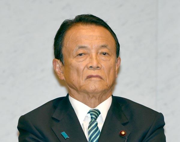不満が募る麻生財務相(C)日刊ゲンダイ