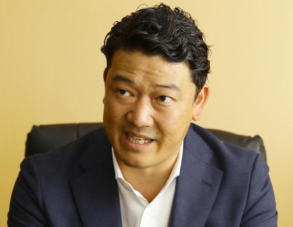 壱角家の國松晃社長(C)日刊ゲンダイ