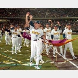 1996年シーズンには日本一に(C)共同通信社