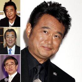 後任の候補には高橋英樹、加山雄三、石坂浩二の名前