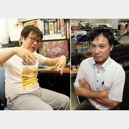 鷹巣純教授(写真左)と川上浩司教授/(C)日刊ゲンダイ