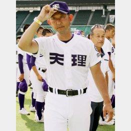 「選手のために準備するのが仕事」と語った中村監督/(C)日刊ゲンダイ