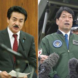 どちらもトンチンカン(佐藤副大臣と小野寺防衛相)
