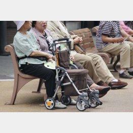 高齢化社会をサポート(C)日刊ゲンダイ