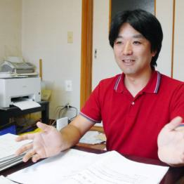 反対運動主導の黒川敦彦氏 「加計問題は森友と同じ構図」