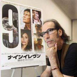 インタビューに応えたマルティン・ギギ映画監督
