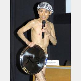 原点はやはりお笑い芸人(C)日刊ゲンダイ