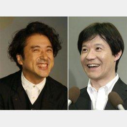 「LIFE!」に出演するムロツヨシ(左)と内村光良/(C)日刊ゲンダイ