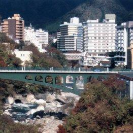 事故現場のふれあい橋