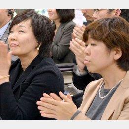 安倍昭恵夫人(左)と谷査恵子氏(C)日刊ゲンダイ