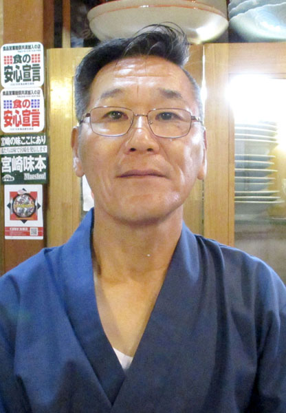 板前料理福重の福重浩さん(C)日刊ゲンダイ
