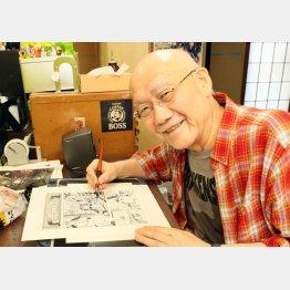 グルメ漫画家の土山しげるさん(C)日刊ゲンダイ