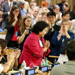 核兵器禁止条約は7月に採択された