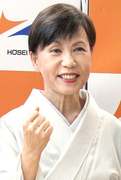 江戸文化研究の第一人者として知られる田中優子・法政大総長(C)日刊ゲンダイ