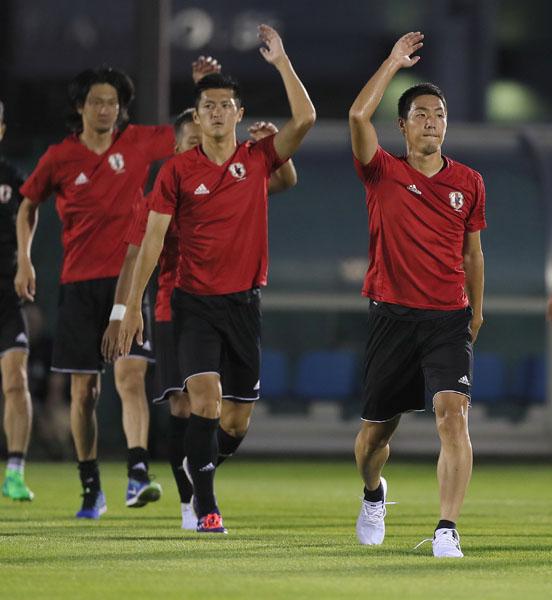 「しっかりと準備したい」と昌子(右は、中央は植田)/(C)Norio ROKUKAWA/Office La Stradada