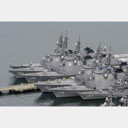 イージス艦では撃ち落とせない(C)共同通信社