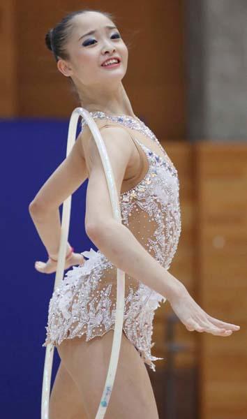 フープで銅メダルを獲得(C)日刊ゲンダイ