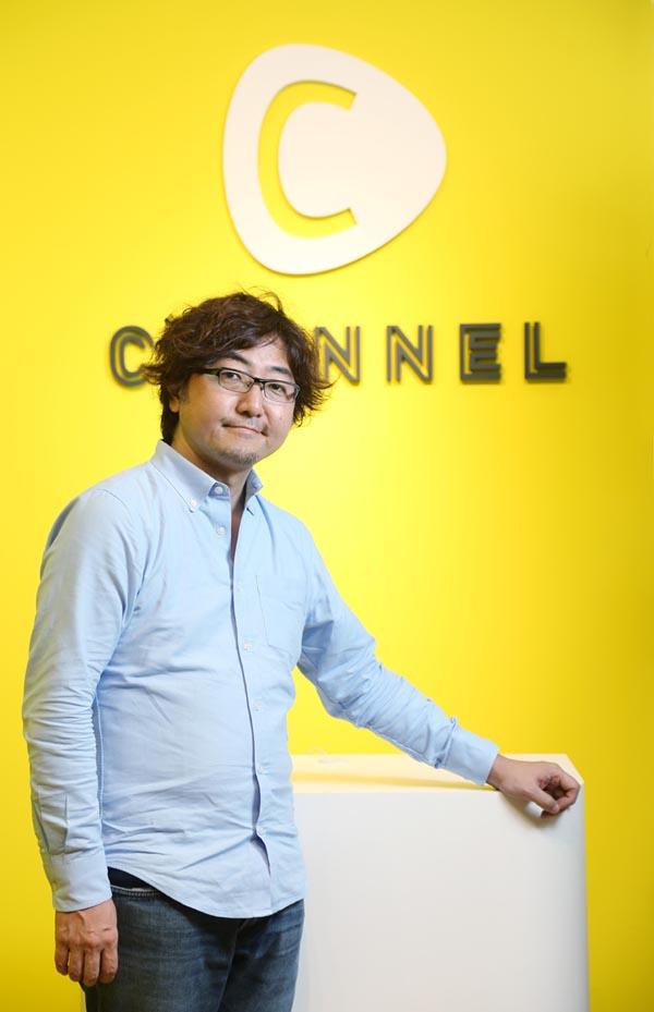 CChannelの森川亮社長(C)日刊ゲンダイ