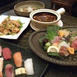 三福(三田)和食も中華も味わえる 珍しい専門店