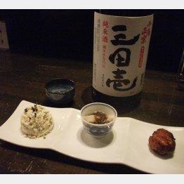兵庫の日本酒にこだわる(C)日刊ゲンダイ