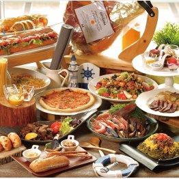 料理は企画メニューなどがあって面白いと評判(C)日刊ゲンダイ