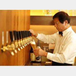 東京・神田で「地ビールハウス 蔵くら」を営む田中慶代表(C)日刊ゲンダイ