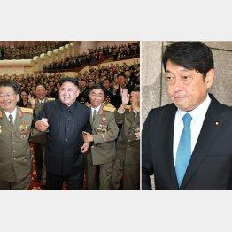 「水爆実験成功」と喧伝する金正恩委員長、小野寺防衛相は口先政権の代表格/(C)朝鮮通信=共同