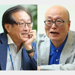 立川談四楼さん(右)と二木氏/(C)日刊ゲンダイ