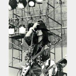 ロックバンド「子供ばんど」時代、19歳から20歳の頃/(提供写真)