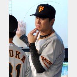 高橋由伸監督も来季が契約最終年(C)日刊ゲンダイ