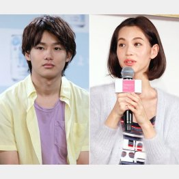 野村周平(左)とは家族公認の仲(C)日刊ゲンダイ