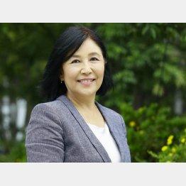 アベックス社長の芳子ビューエルさん(C)日刊ゲンダイ
