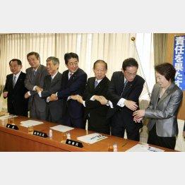 党利党略の安倍首相(C)日刊ゲンダイ