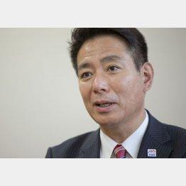 「安倍政権とは違う社会像を提示したい」(C)日刊ゲンダイ