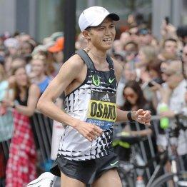 初マラソンのボストンで3位に入った