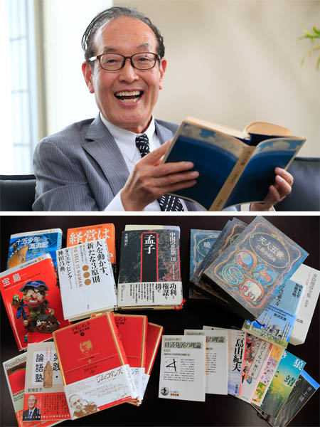 クレディセゾン林野宏社長の愛読書(C)日刊ゲンダイ
