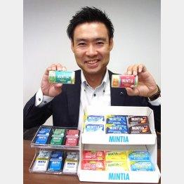 食品マーケティング部の大津幸義氏(C)日刊ゲンダイ