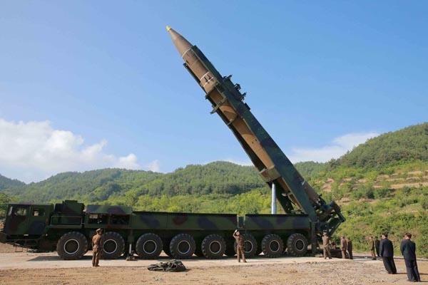 終わりなきミサイル開発(朝鮮通信=共同)