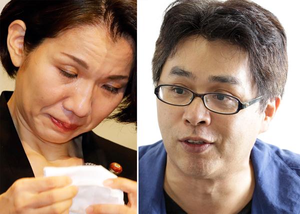 豊田真由子議員(左)と立川志らく(C)日刊ゲンダイ