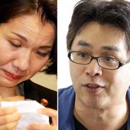 豊田真由子議員(左)と立川志らく