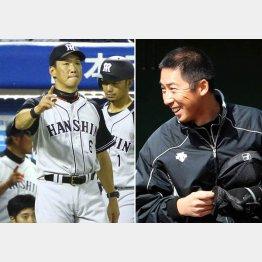 金本監督と今井二軍コーチ(C)日刊ゲンダイ