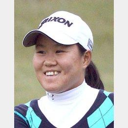 昨年の日本女子オープンに続きツアー2勝目(C)日刊ゲンダイ