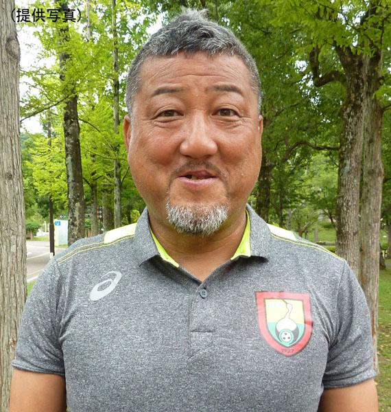 父・力さんは現在、姫路独協大サッカー部監督を務める(提供写真)