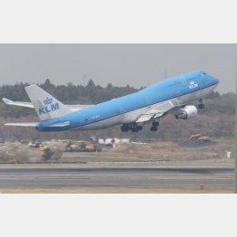 KLMオランダ航空機(C)共同通信社