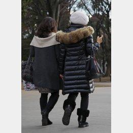 冬物の長期保管に使う人も…(C)日刊ゲンダイ