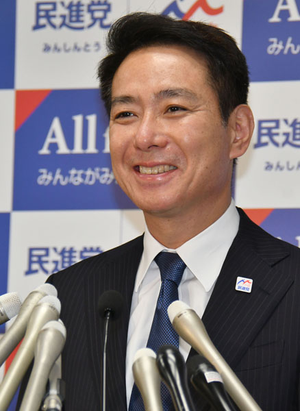民進党・前原代表の覚悟が問われる(C)日刊ゲンダイ