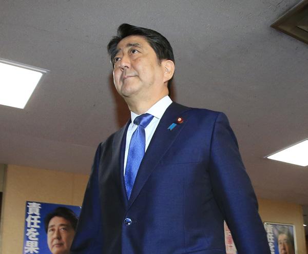 """国難ならぬ""""僕難""""解散(C)日刊ゲンダイ"""