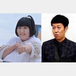 小藪千豊(右)から一番大事なボケのつくり方を学んだ(C)日刊ゲンダイ